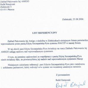 2006.08.25 - Zakład Pakowania Jaj AMIGO Rafał Ratajczak w Pławcach