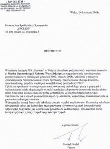 2008.04.04 - Powszechna Spółdzielnia Spożywców Społem w Wałczu