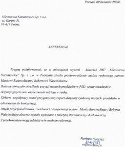 2008.04.09 - Mleczarnia Naramowice Sp. z o.o. w Poznaniu
