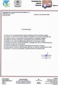 2008.06.05 - Przedsiębiorstwo Inżynierii Sanitarnej z Gniezna