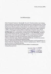2009.03.20 - Transport Ciężarowy i Spedycja S.J. K.Perz, Z.Orzechowski w Kwilczu