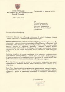 2010.01.29 - Marszałek Województwa Wielkopolskiego