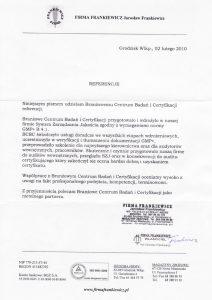 2010.02.02 - Firma Frankiewicz z Grodziska Wlkp.