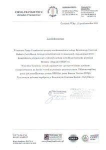 2011.10.21 - Firma Frankiewicz z Grodziska Wlkp.