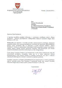 2012.01.17 - Marszałek Województwa Wielkopolskiego