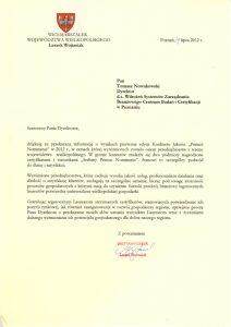 2012.07.27 - Marszałek Województwa Wielkopolskiego
