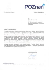 2012.08.01 - Prezydent Miasta Poznania