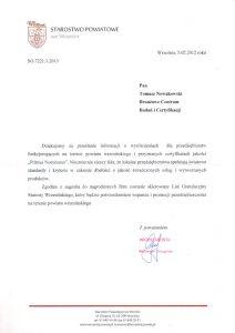 2013.02.05 - Starostwo Powiatowe we Wrześni