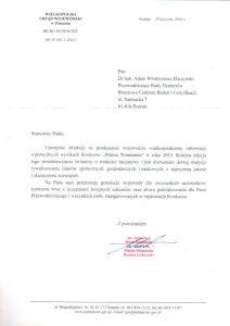 2016.01.29 - Referencje Wojewoda Wielkopolski